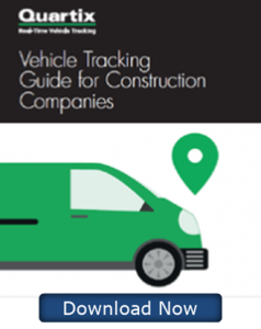 Quartix Vehicle Tracking for construction companies eBook