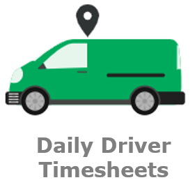 Quartix Daily Driver Timesheets functionality