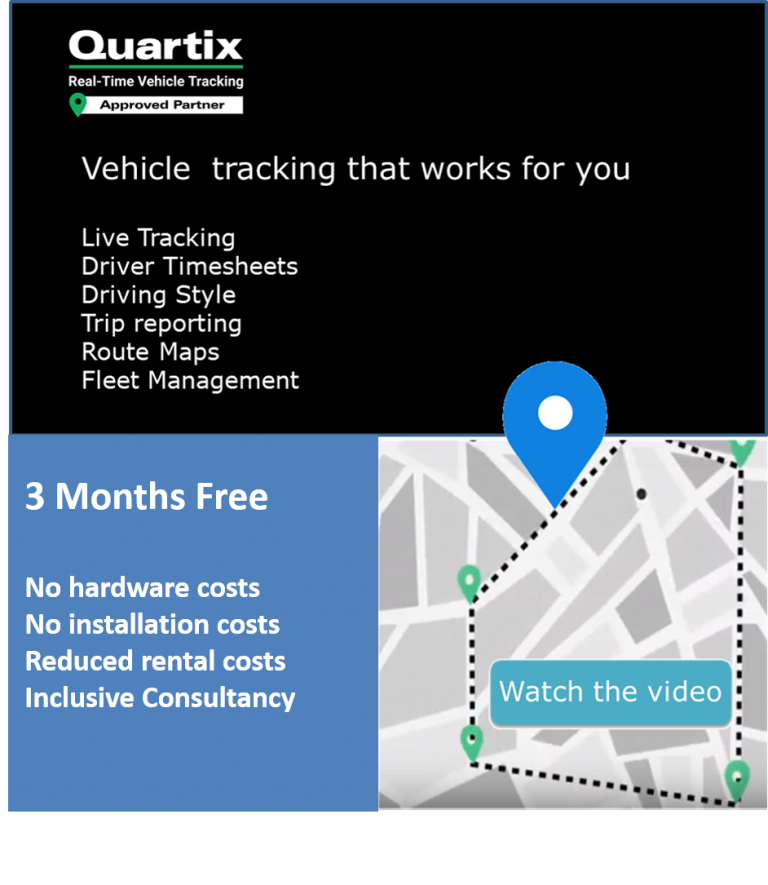 Quartix Free for 3 Months